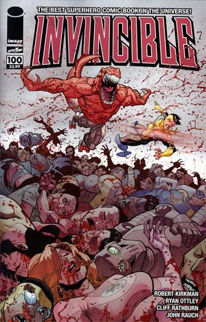 Invincible #100 1st Ptg Cover G Ryan Ottley Wraparound
