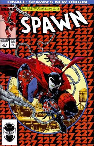 Spawn #227 Regular Todd McFarlane Cover