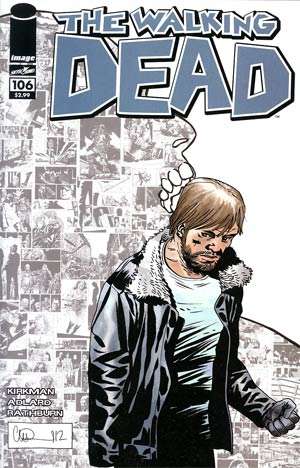 Walking Dead #106 Cover B Charlie Adlard