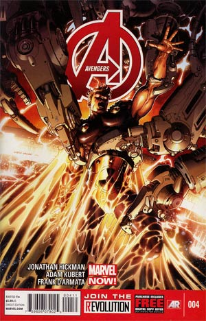 Avengers Vol 5 #4 1st Ptg Regular Dustin Weaver Cover