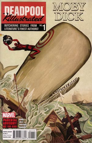 Deadpool Killustrated #1 1st Ptg (Limit 1 per customer)