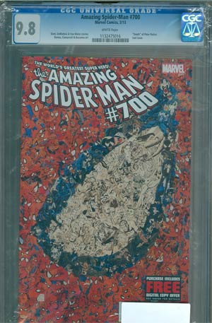 Amazing Spider-Man Vol 2 #700 1st Ptg DF CGC 9.8