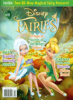 Disney Fairies Magazine #12