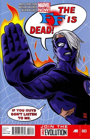 FF Vol 2 #3 Regular Mike Allred Cover