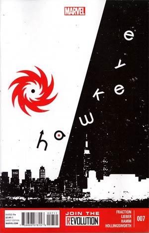 Hawkeye Vol 4 #7 1st Ptg