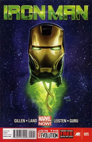 Iron Man Vol 5 #5 1st Ptg Regular Greg Land Cover