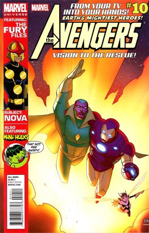 Marvel Universe Avengers Earths Mightiest Heroes #10