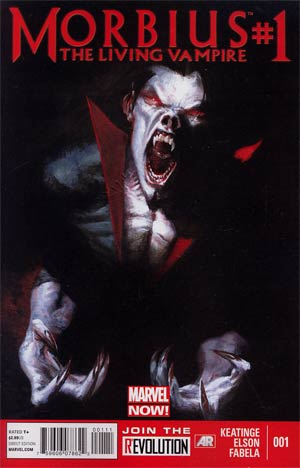 Morbius The Living Vampire Vol 2 #1 1st Ptg Regular Gabriele Dell Otto Cover