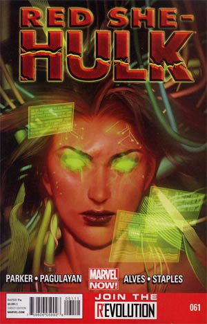 Red She-Hulk #61 Regular Jana Schirmer Cover