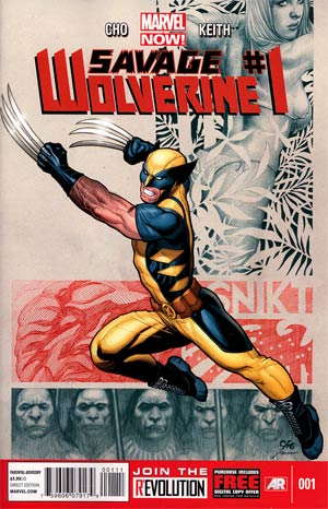 Savage Wolverine #1 1st Ptg Regular Frank Cho Cover