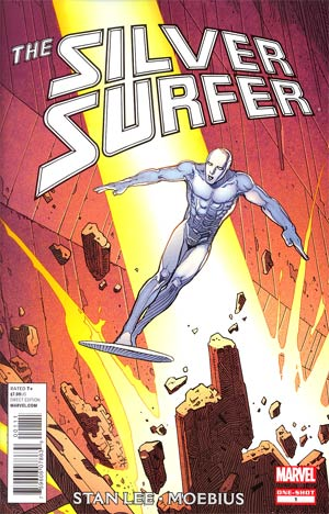 Silver Surfer By Stan Lee And Moebius #1