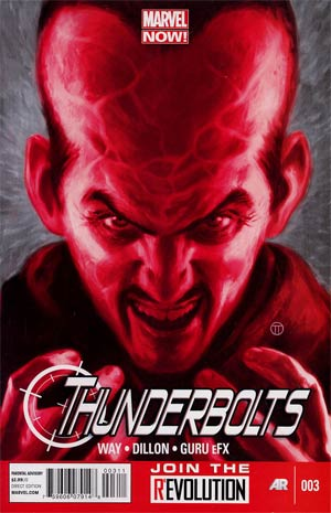 Thunderbolts Vol 2 #3 1st Ptg Regular Julian Totino Tedesco Cover
