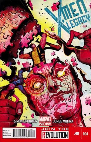 X-Men Legacy Vol 2 #4 Regular Mike Del Mundo Cover