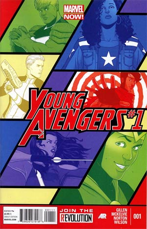 Young Avengers Vol 2 #1 1st Ptg Regular Jamie McKelvie Cover