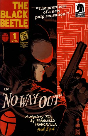 Black Beetle No Way Out #1 1st Ptg