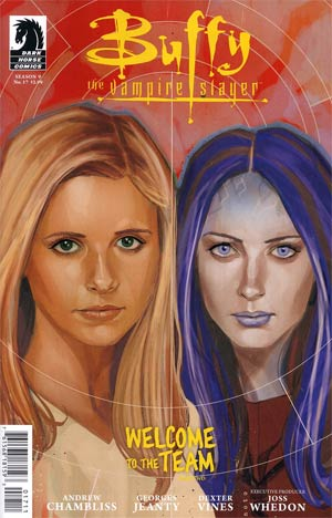 Buffy The Vampire Slayer Season 9 Freefall #17 Regular Phil Noto Cover