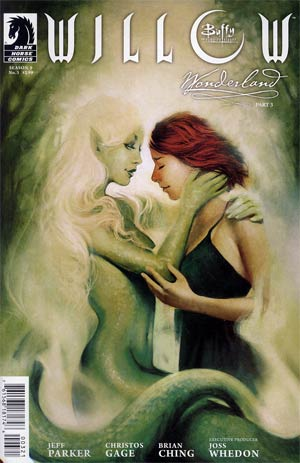 Buffy The Vampire Slayer Willow Wonderland #3 Variant Megan Lara Cover
