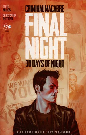Criminal Macabre Final Night 30 Days Of Night Crossover #2