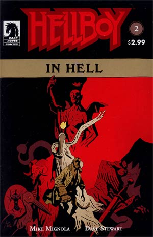 Hellboy In Hell #2 1st Ptg