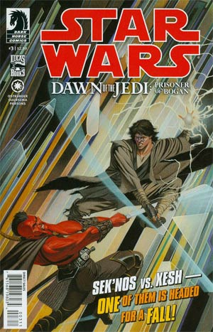 Star Wars Dawn Of The Jedi Prisoner Of Bogan #3