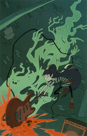Adventure Time Marceline And The Scream Queens #1 Baltimore Comic Con Exclusive Virgin Variant Cover