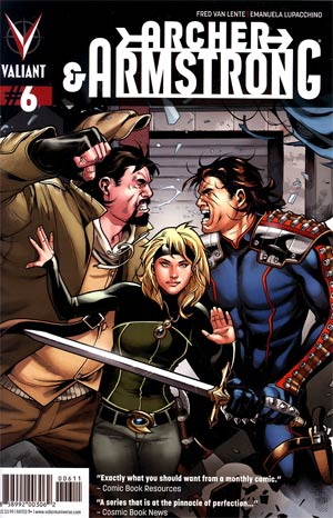Archer & Armstrong Vol 2 #6 Regular Emanuela Lupacchino Cover