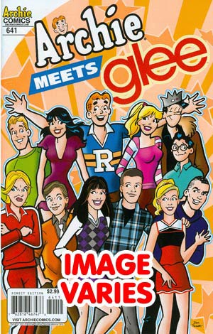 DO NOT USE Archie #641 Archie Meets Glee Part 1 (Filled Randomly With 1 Of 2 Covers)