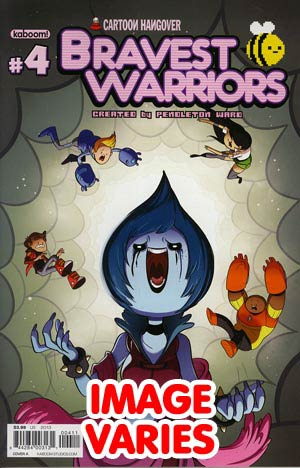 DO NOT USE (DUPLICATE LISTING) Bravest Warriors #4 Regular Cover (Filled Randomly With 1 Of 2 Covers)