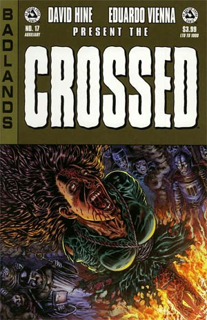 Crossed Badlands #17 Auxiliary Edition