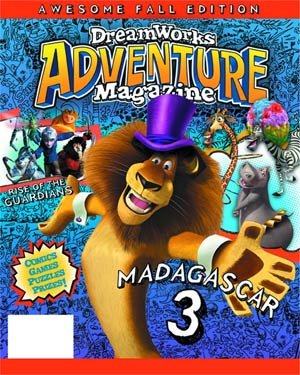 Dreamworks Adventure Magazine #3