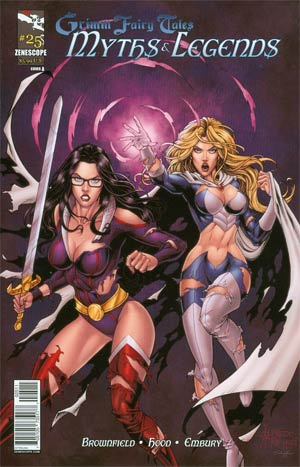 Grimm Fairy Tales Myths & Legends #25 Cover A Alfredo Reyes