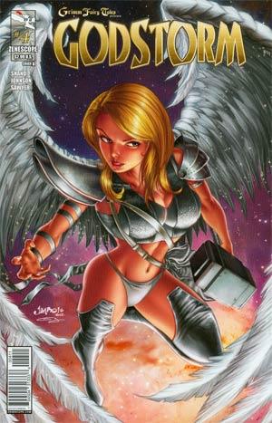 Grimm Fairy Tales Presents Godstorm #4 Cover A Jimbo Salgado