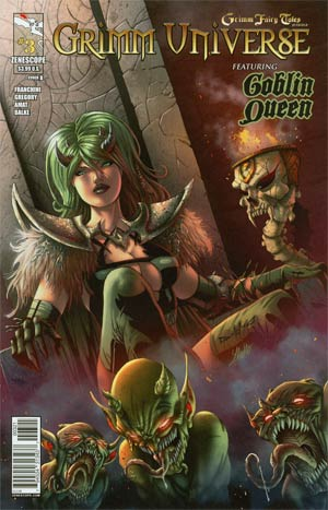 Grimm Universe #3 Goblin Queen Cover B Pasquale Qualano