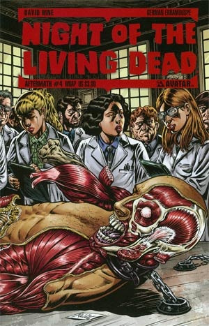 Night Of The Living Dead Aftermath #4 Wrap Cvr