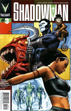 Shadowman Vol 4 #3 Regular Patrick Zircher Cover