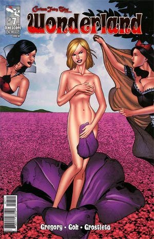 Grimm Fairy Tales Presents Wonderland Vol 2 #7 Cover A Sean Chen