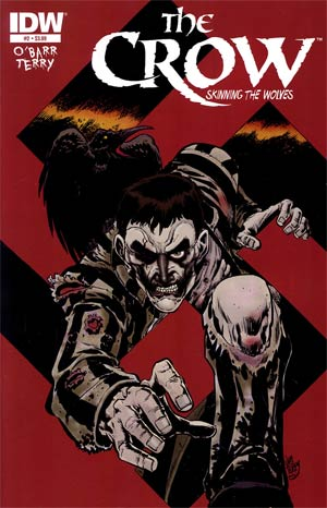 Crow Skinning The Wolves #2 Regular James OBarr Cover