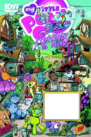 My Little Pony Friendship Is Magic #1 DF Exclusive Variant Cover Signed By Katie Cook