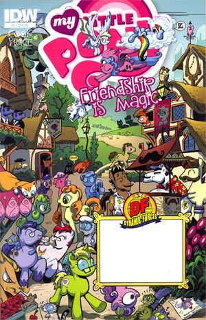 My Little Pony Friendship Is Magic #1 DF Exclusive Variant Cover