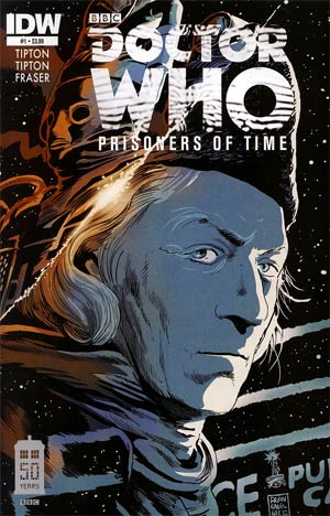 Doctor Who Prisoners Of Time #1 1st Ptg Regular Francesco Francavilla Cover