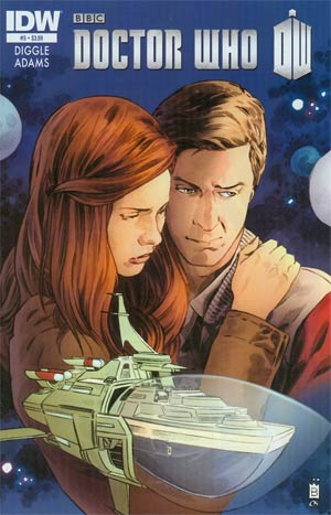 Doctor Who Vol 5 #5 Regular Mark Buckingham Cover