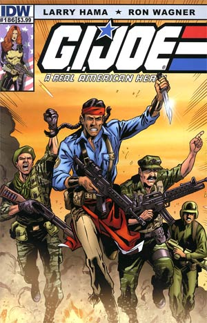 GI Joe A Real American Hero #186 Regular Ron Wagner Cover