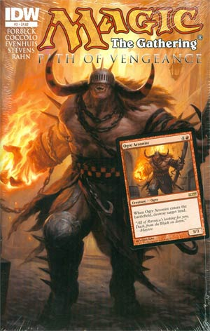 Magic The Gathering Path Of Vengeance #3 Regular Chris Rahn Cover