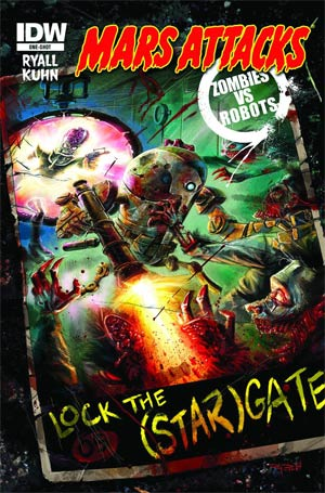 Mars Attacks Zombies vs Robots One Shot Regular Ray Dillon Cover