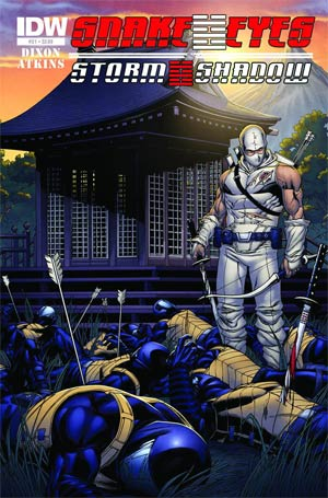 Snake Eyes & Storm Shadow #21 Regular Robert Atkins Cover