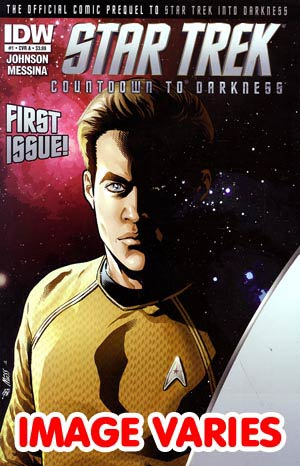 DO NOT USE (DUPLICATE LISTING) Star Trek Countdown To Darkness #1 1st Ptg Regular Cover (Filled Randomly With 1 Of 2 Covers)