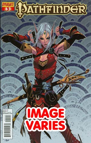 DO NOT USE (DUPLICATE LISTING) Pathfinder #5 Regular Cover (Filled Randomly With 1 Of 4 Covers)