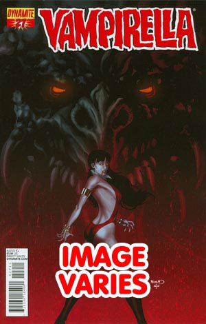 DO NOT USE Vampirella Vol 4 #27 Regular Cover (Filled Randomly With 1 Of 3 Covers)