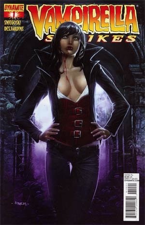 Vampirella Strikes Vol 2 #1 Regular Cover B David Finch