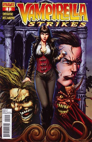 Vampirella Strikes Vol 2 #1 Regular Cover D Johnny Desjardins